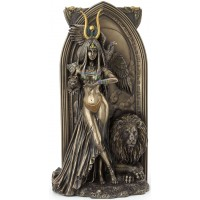 Priestess Egyptian Bronze Fantasy Art Statue
