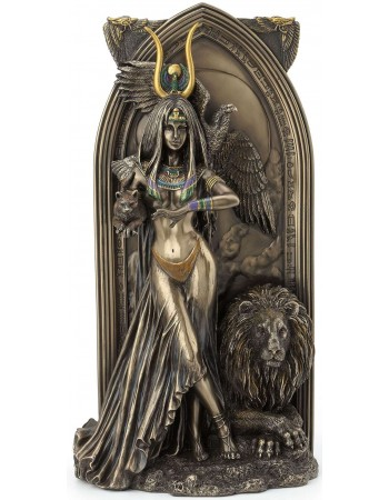 Priestess Egyptian Bronze Fantasy Art Statue Mythic Decor  Dragon Statues, Angels, Myths & Legend Statues & Home Decor