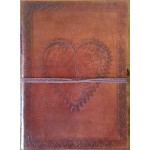 Heart Leather Journal at Mythic Decor,  Dragon Statues, Angels & Demons, Myths & Legends |Statues & Home Decor