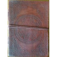 Celtic Mandala Leather Journal