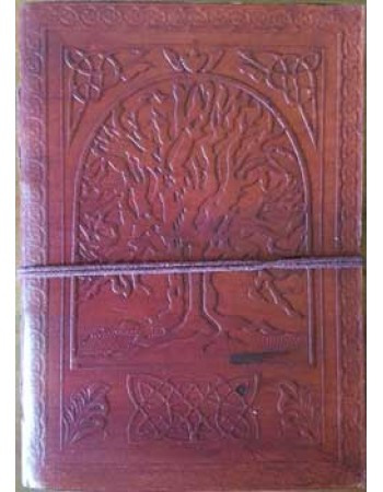 Tree of Life 7 Inch Leather Journal Mythic Decor  Dragon Statues, Angels, Myths & Legend Statues & Home Decor