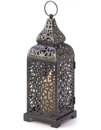 Moroccan Tower Candle Lantern Mythic Decor  Dragon Statues, Angels, Myths & Legend Statues & Home Decor