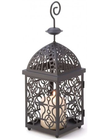 Moroccan Birdcage Candle Lantern Mythic Decor  Dragon Statues, Angels, Myths & Legend Statues & Home Decor