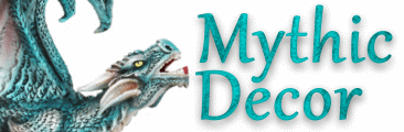 Mythic Decor  Dragon Statues, Angels & Demons, Myths & Legends |Statues & Home Decor